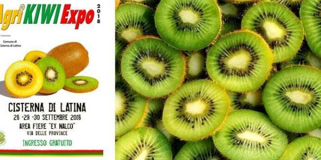 Cisterna di Latina: dal 28 al 30 settembre torna AgriKiwi Expo