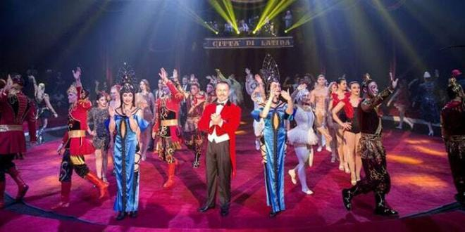 I vincitori della 19esima edizione dell'International Circus Festival of Italy