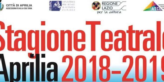 Aprilia: al via la nuova stagione teatrale 2018-2019