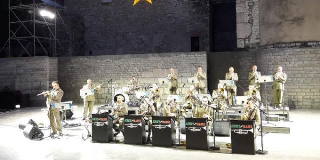 L'Army Jazz Band della Banda dell'Esercito Italiano in concerto a Sabaudia
