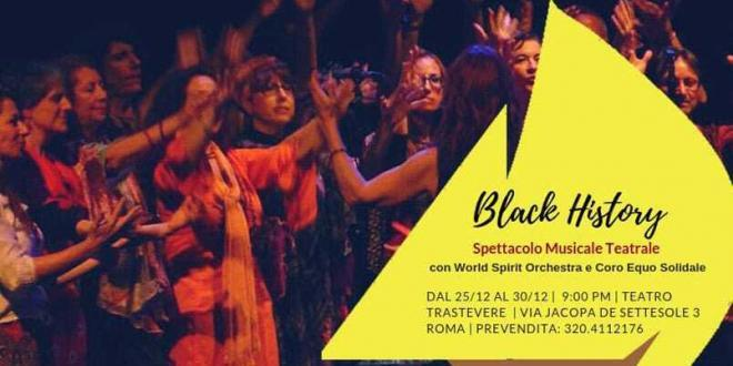 Mario Donatone & World Spirit in Black History al Teatro Trastevere di Roma