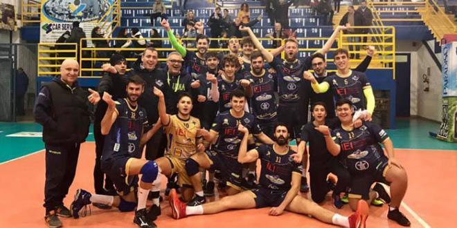 Decima vittoria consecutiva per l'Istituto Estetico Italiano Sabaudia Pallavolo