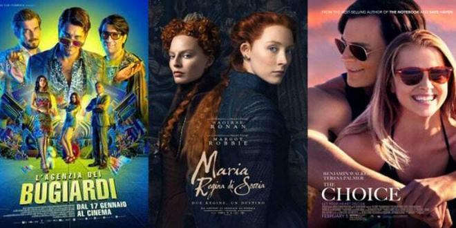 Film consigliati al cinema e sul web da venerdì 18 a domenica 20 gennaio