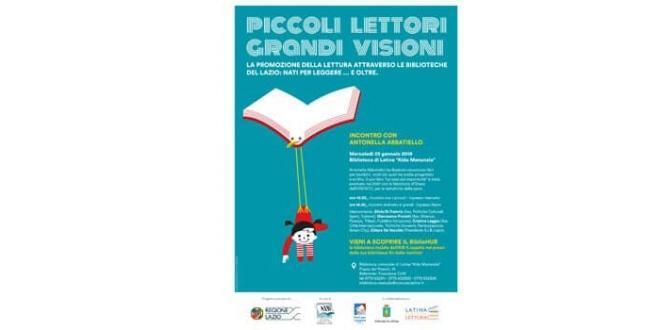 Latina. Il 23 gennaio torna Nati per Leggere in Biblioteca
