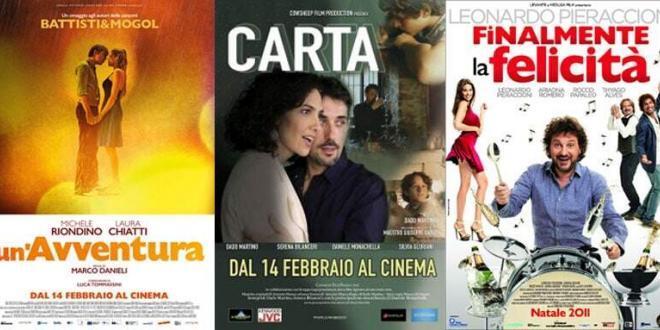 Film consigliati al cinema e in televisione da venerdì  15 a domenica 17 febbraio