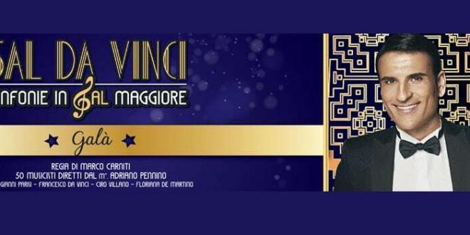 """Sal Da Vinci in """"Sinfonie in Sal Maggiore"""" al Teatro Brancaccio di Roma"""