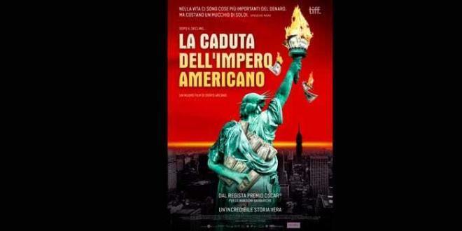 """""""La Caduta Dell'Impero Americano"""" il nuovo film di Denys Arcand, dal 24 aprile al cinema"""
