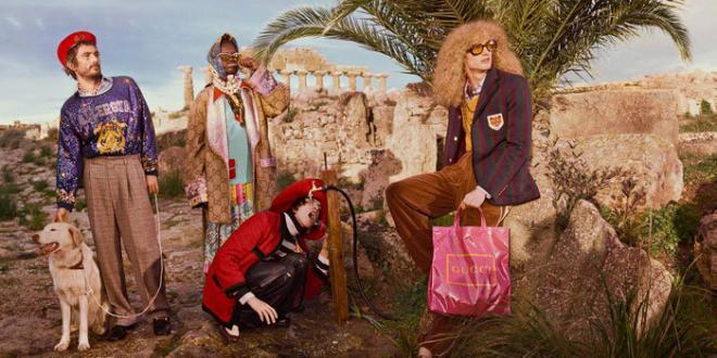 Selinunte scenario nuova campagna Gucci