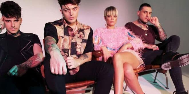 "The Kolors con Elodie: ""Pensare Male"" è disco di platino"