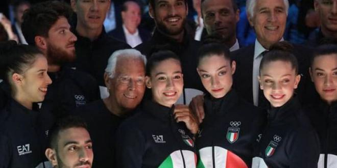 Giorgio Armani veste Italia alle Olimpiadi