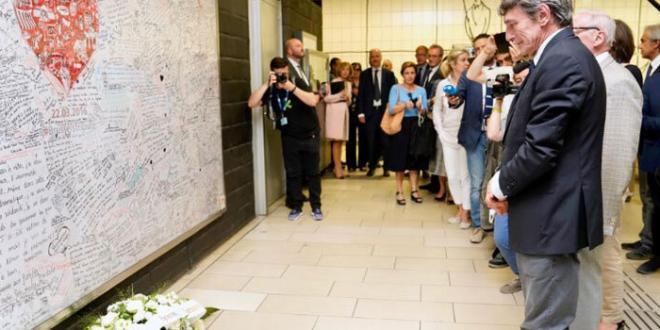 Il Presidente del PE Sassoli rende omaggio alle vittime del terrorismo in Europa