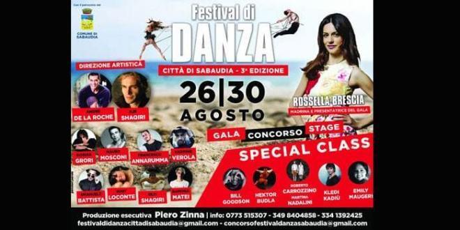 Terza edizione del Festival di Danza Città di Sabaudia