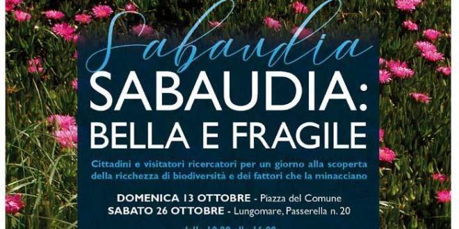 """A Sabaudia ritorna il """"Lazio delle meraviglie"""" sabato 26 e passeggiata domenica 27"""