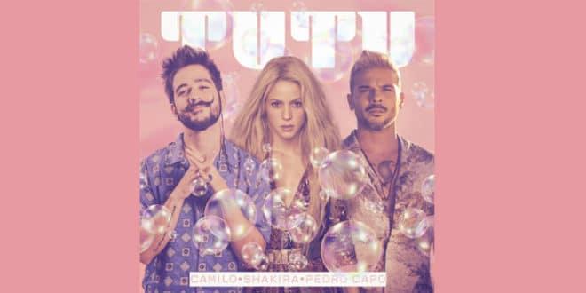 """Camilo Shakira Pedro Capò con """"Tutu Remix"""""""