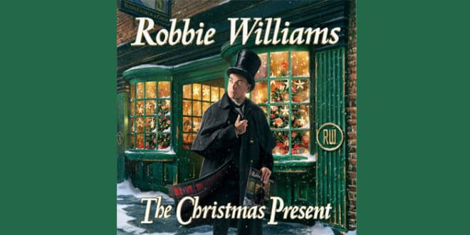 "Robbie Williams uscirà il 22 novembre ""The Christmas Present"""