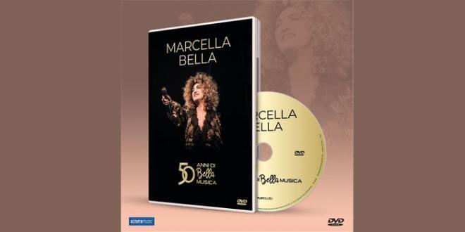 """Esce oggi il DVD di Marcella Bella """"50 Anni di Bella Musica"""""""