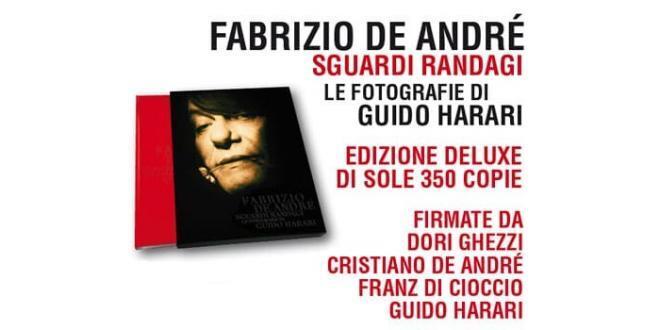 L'edizione Deluxe di sole 350 copie del libro di Guido Harari Fabrizio De André. Sguardi randagi