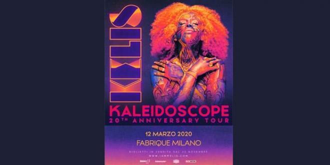 Kelis per la prima volta in Italia