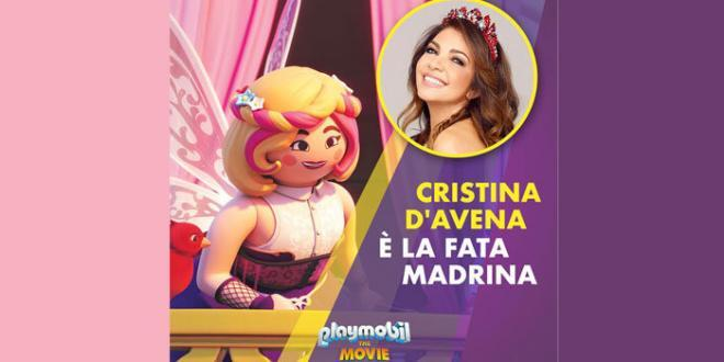 "Intervista a Cristina D'avena, sarà la Fata Madrina in ""Playmobil: The Movie"""