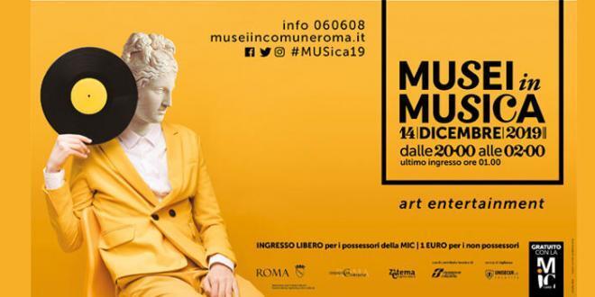 """Roma: Si parte sabato 14 Dicembre con """"Musei in Musica"""""""