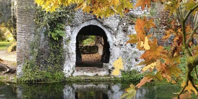 Antiche rovine del giardino di Ninfa, via il progetto di restauro conservativo