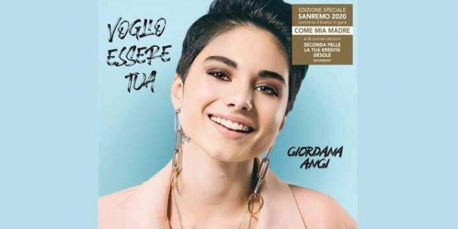 """Giordana Angi in Gara Al 70° Festival Di Sanremo con il brano """"Come Mia Madre"""""""