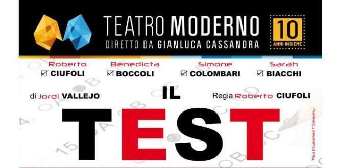 Questa settimana al Teatro Moderno