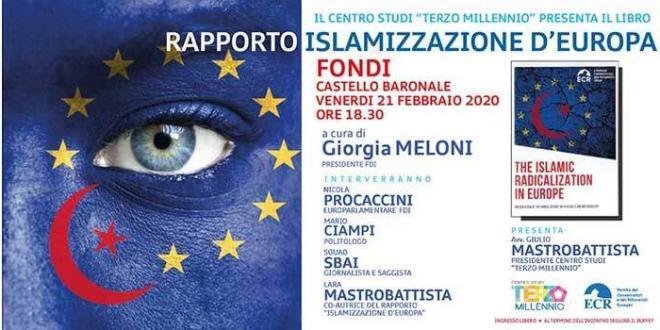 Islamizzazione D'europa di Giorgia Meloni