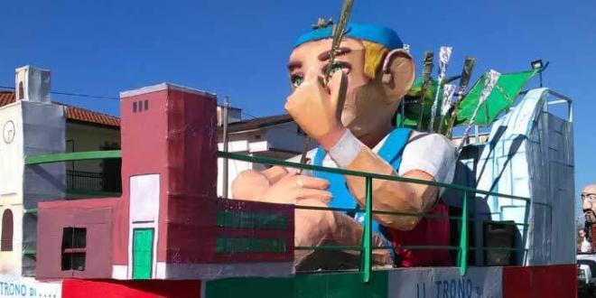 Carnevale Pontino, tutto pronto per una domenica di festa e colori a Sabaudia