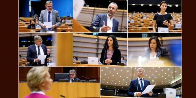 UE: i deputati sostengono il pacchetto di proposte per la ripresa