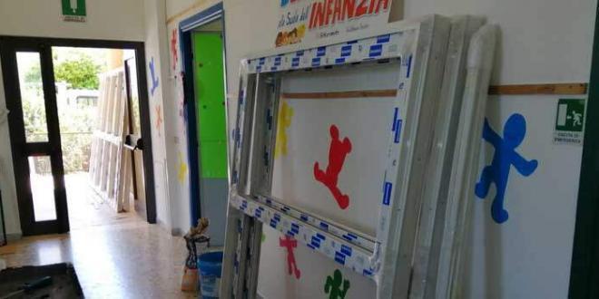 Scuola dell'Infanzia di Mezzomonte, al via i lavori di efficientamento energetico