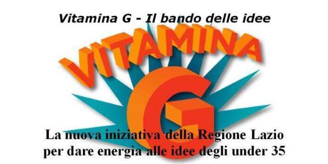 Vitamina G – Il bando delle idee