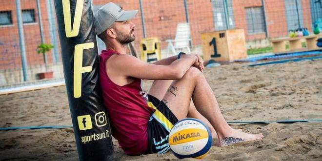 Top Volley Cisterna. Mimmo Cavaccini lavora sulla sabbia in attesa di ripartire