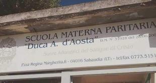 scuola duca d'aosta sabaudia
