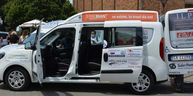 Pomezia. Trasporto pubblico a domicilio per disabili e anziani