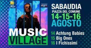 music village 2020
