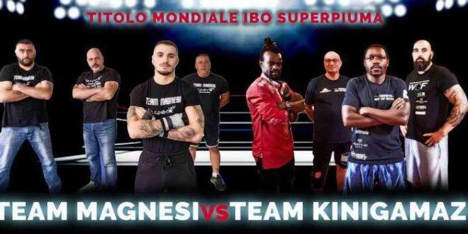 Mondiale di boxe a Fondi, Magnesi: «Incontro infuocato»