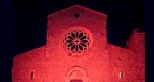 abbazia di Valvisciolo in rosa