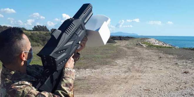 Al Centro di Eccellenza di Sabaudia addestramento per operatori anti drone
