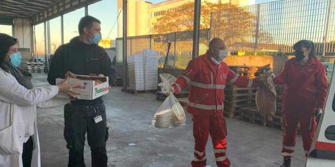 Croce Rossa di Pomezia e mense scolastiche insieme per il recupero delle eccedenze alimentari