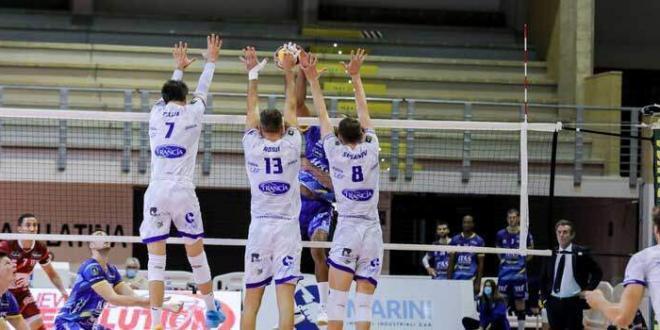 Tutti negativi alla Top Volley, si gioca a Cisterna la sfida con Modena