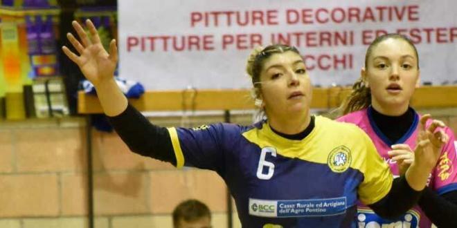L'HC Cassa Rurale Pontinia delle giovani centra la terza vittoria di fila in A2