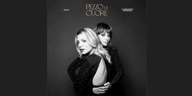 """""""Pezzo di Cuore"""" l'atteso duetto di Emma e Alessandra Amoroso"""