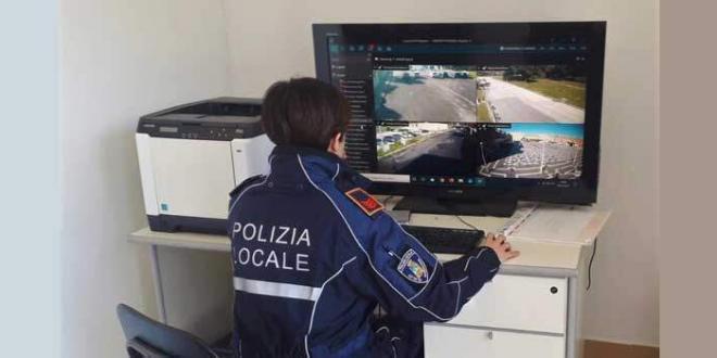 Videosorveglianza a Sabaudia. Il sistema è funzionante