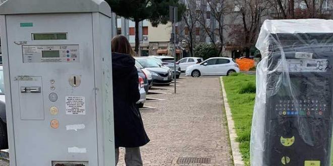 Parcometri latina scalo
