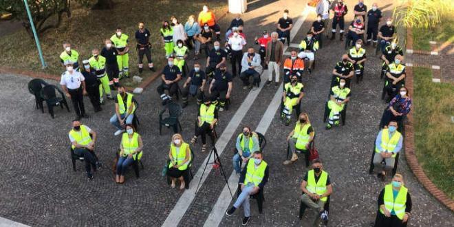 Latina. Presentato il Gruppo comunale dei volontari di Protezione Civile