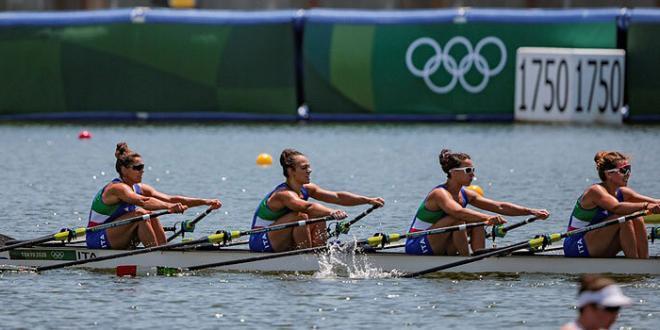 Canottaggio – Tokyo 2020. L'Italia in finale anche con il quattro di coppia femminile