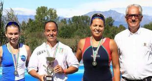 (ph C.Cecchin): il podio del singolo femminile Over 17
