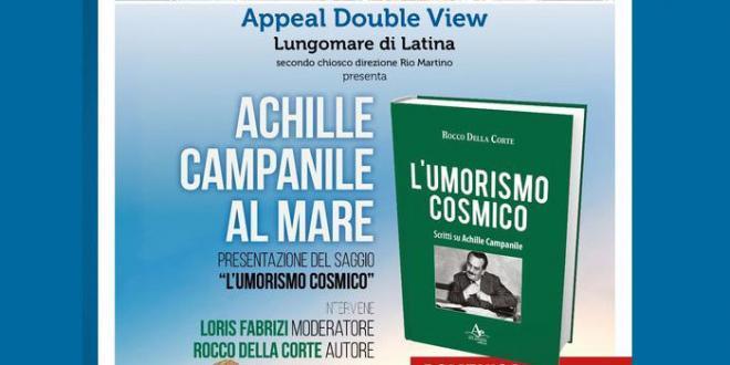 """""""Achille Campanile al mare"""", ultimo appuntamento letterario da Appeal Double View"""
