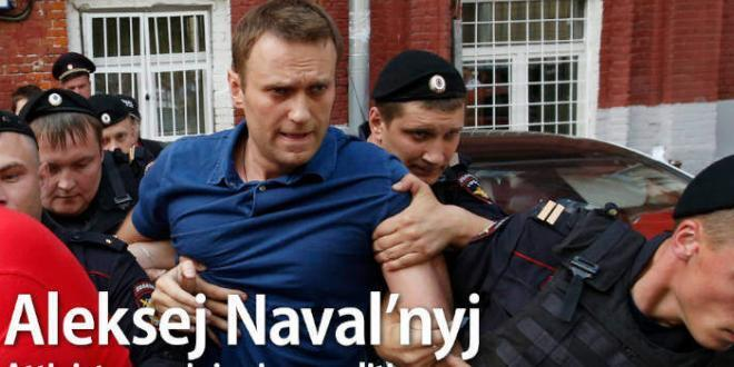 Alexei Navalny vince il Premio Sacharov 2021 del Parlamento europeo